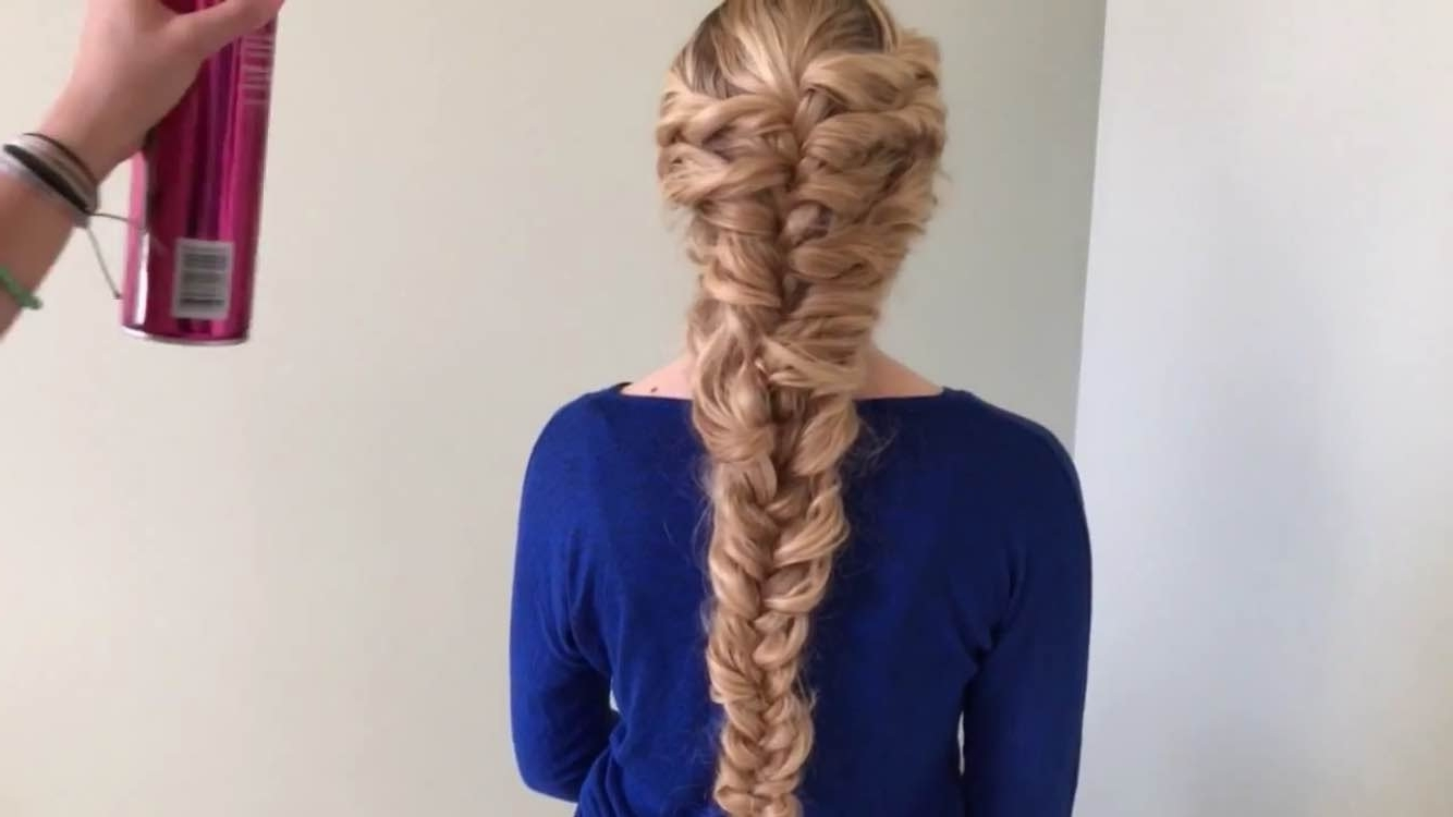 How To Do A Rapunzel Braid (View 2 of 15)