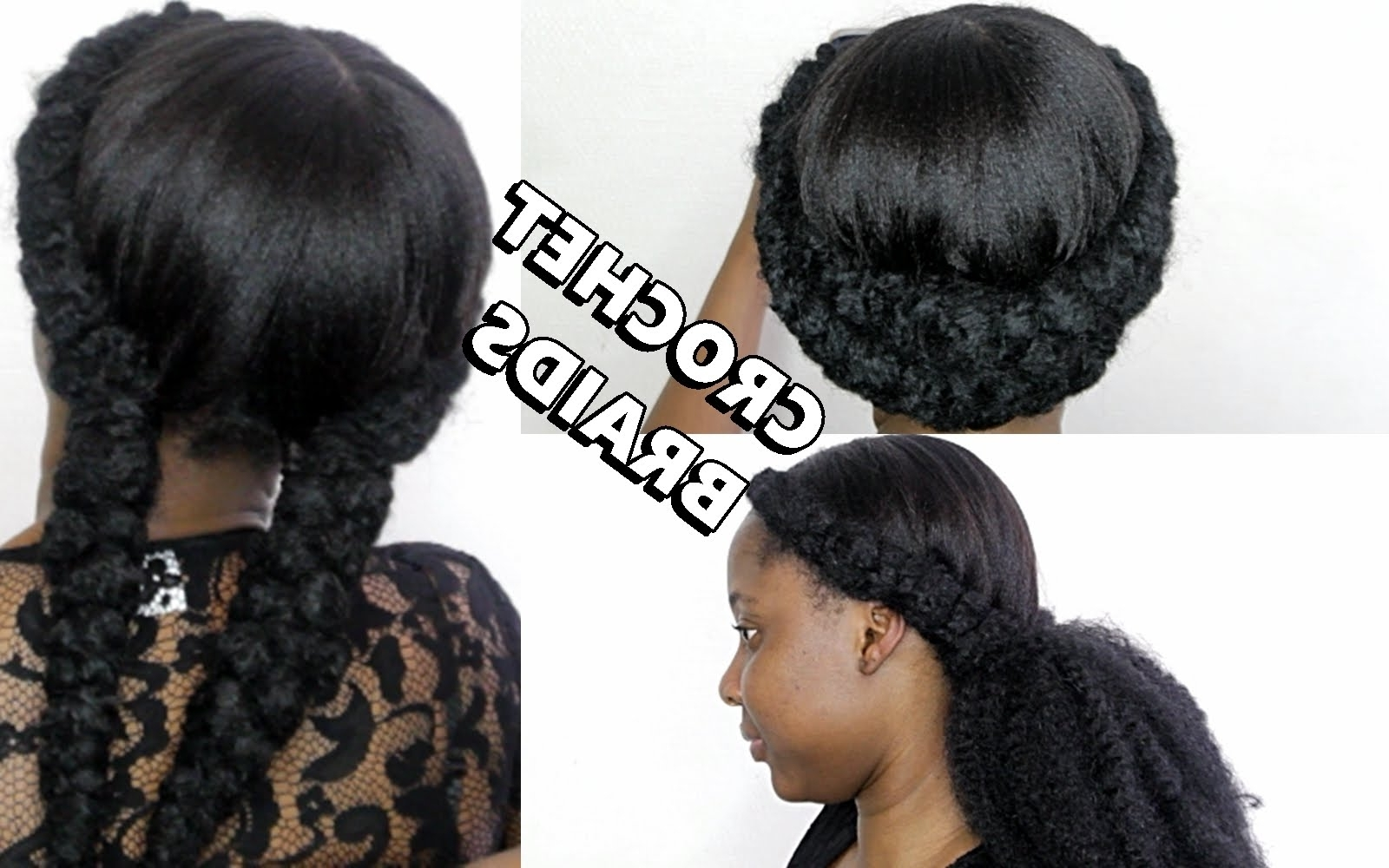 How To Do Crochet Cornrows – Youtube Inside Well Known Cornrows And Crochet Hairstyles (View 8 of 15)