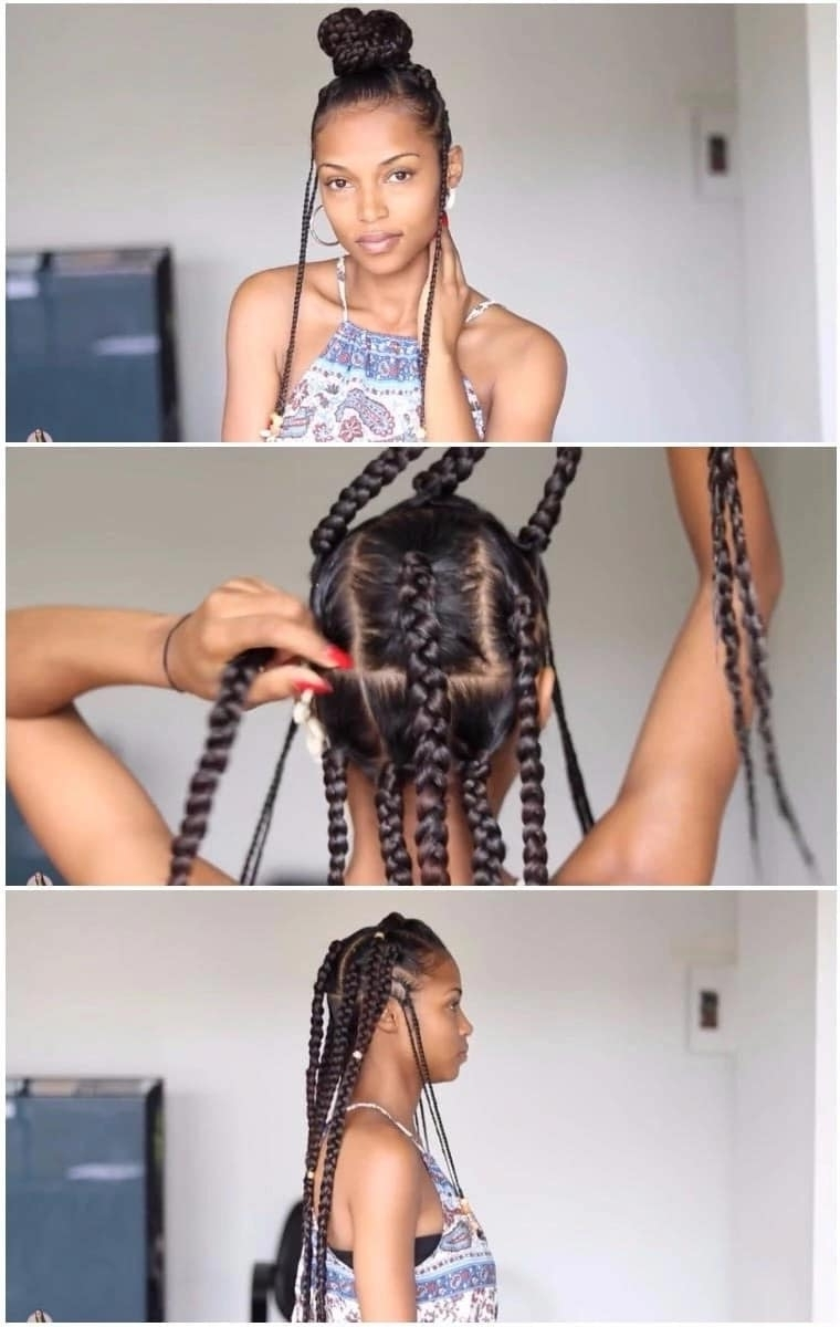 How To Do Fulani Braids With Crochet ▷ Naija (View 4 of 15)
