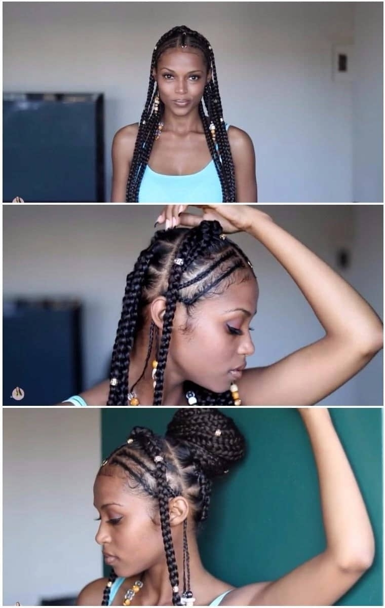 How To Do Fulani Braids With Crochet ▷ Naija (View 6 of 15)