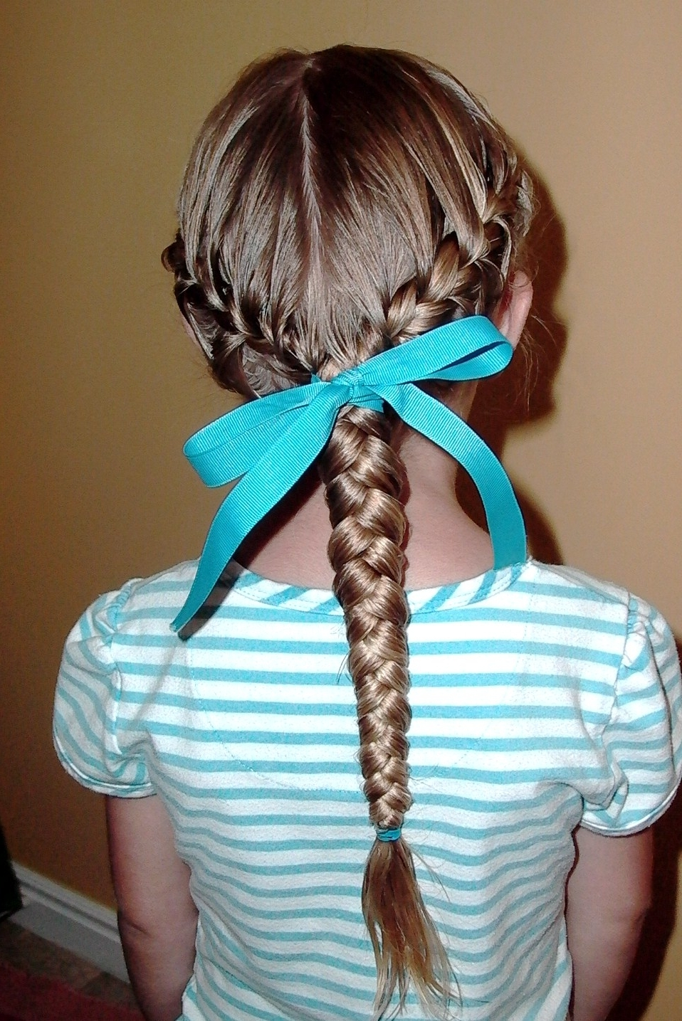 How To Do Girl's Hairstyles: Low Side French Braids Into Braided Inside Well Known Low Side French Braid Hairstyles (View 12 of 15)