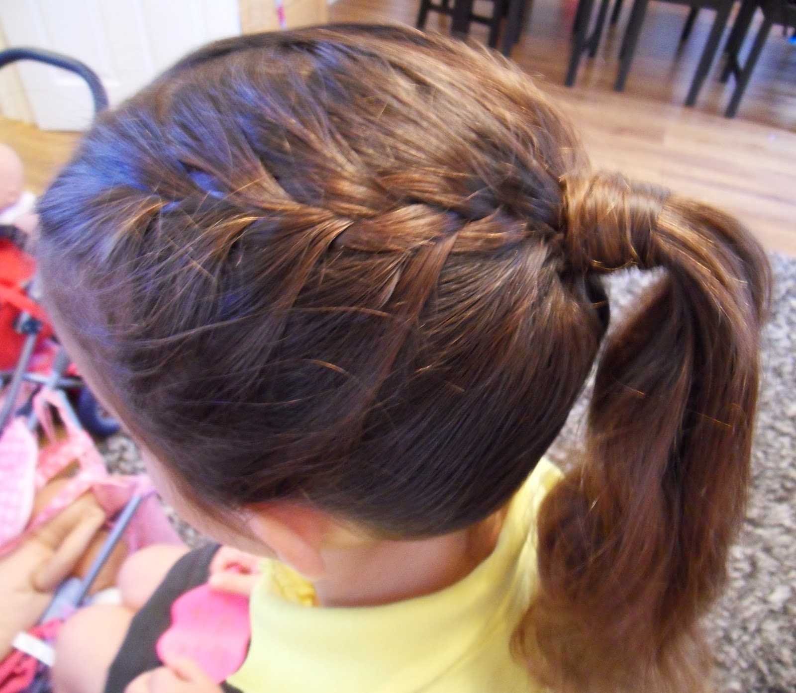 How To French Braid Into A Ponytail (View 6 of 15)