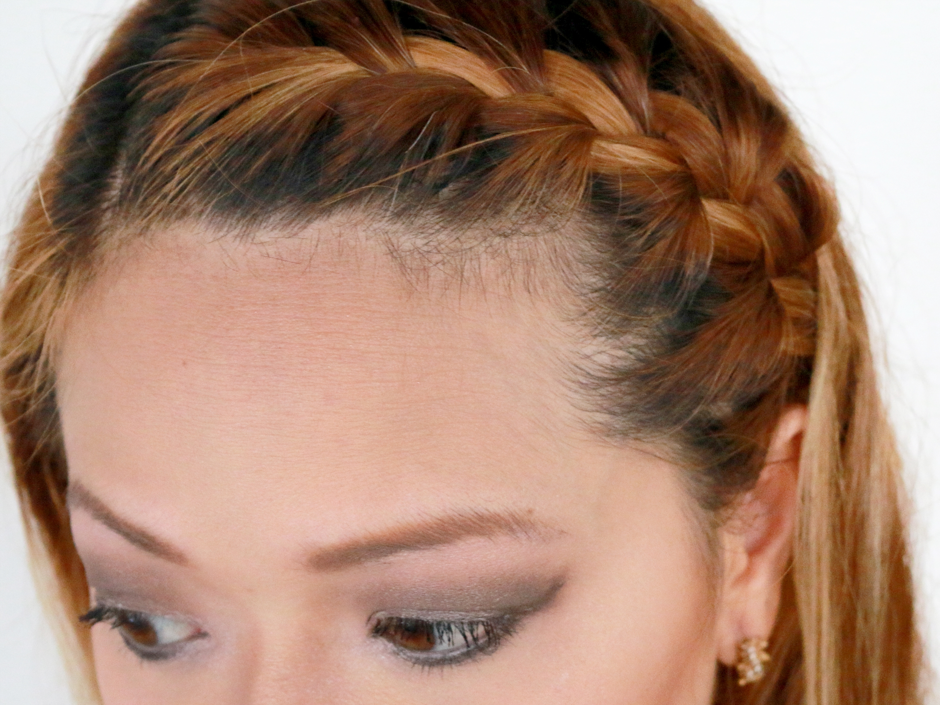 How To French Braid Your Bangs To The Side: 10 Steps With Well Known Braid And Side Bang Hairstyles (View 8 of 15)