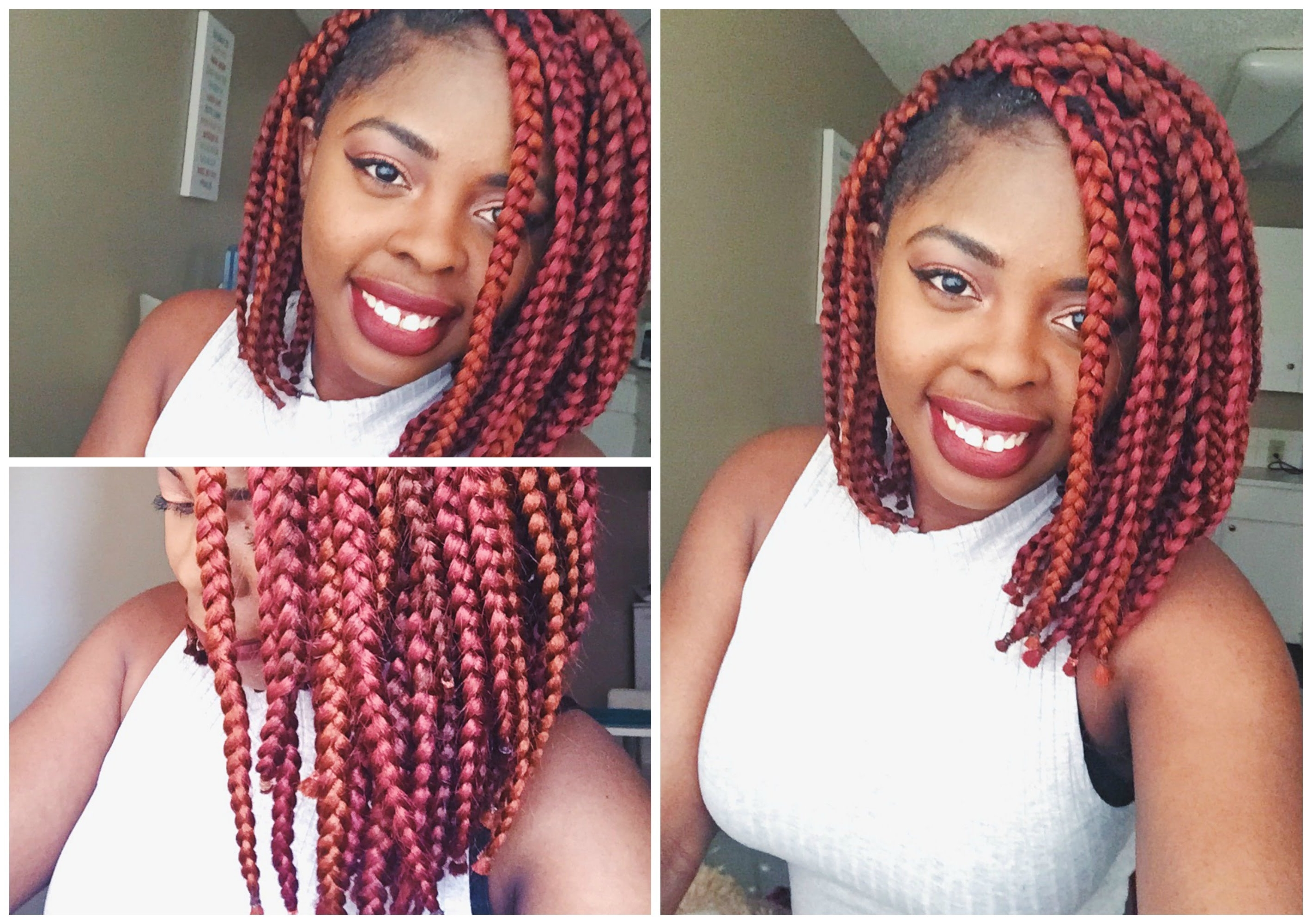 How To Make Lob Or Bob Braids – Youtube With Regard To Widely Used Cornrows Hairstyles With Color (View 11 of 15)