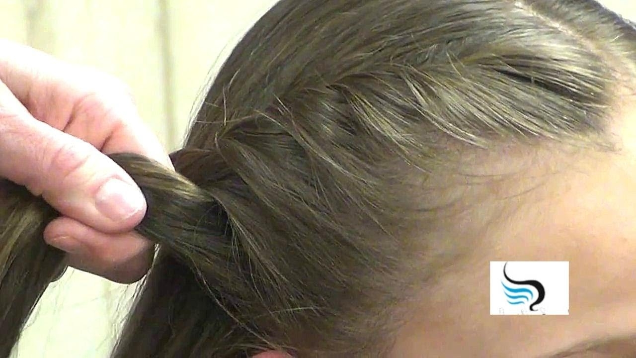 How To Ponytail Hairstyles: Twist Side Wrap Ponytail Styles – Youtube Inside Recent Side Ponytail Braids With A Twist (View 2 of 15)