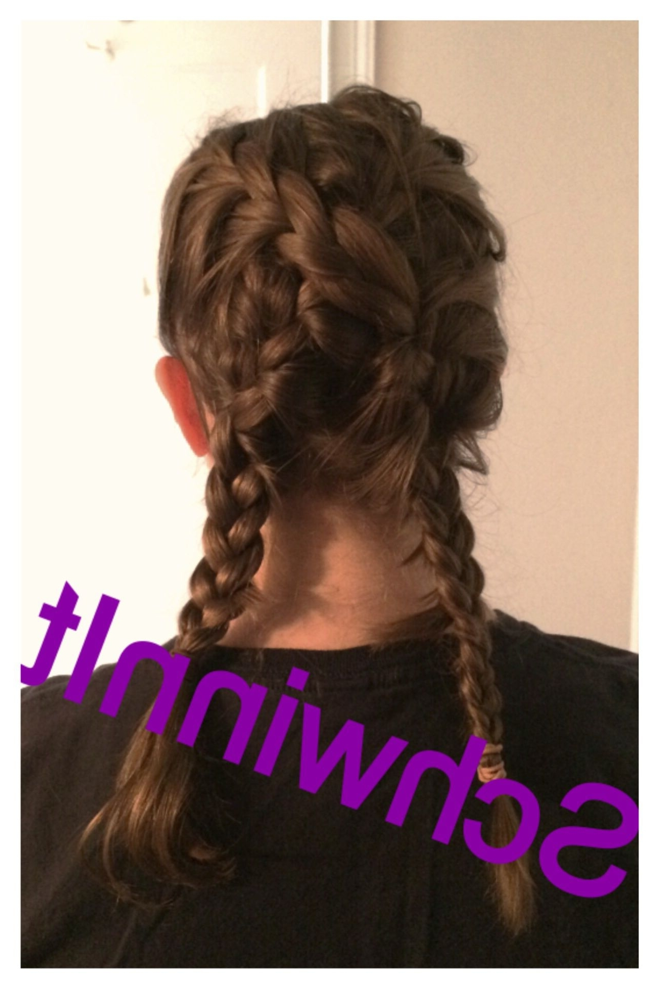 I Made This Crossover Braid On A Whim (View 8 of 15)