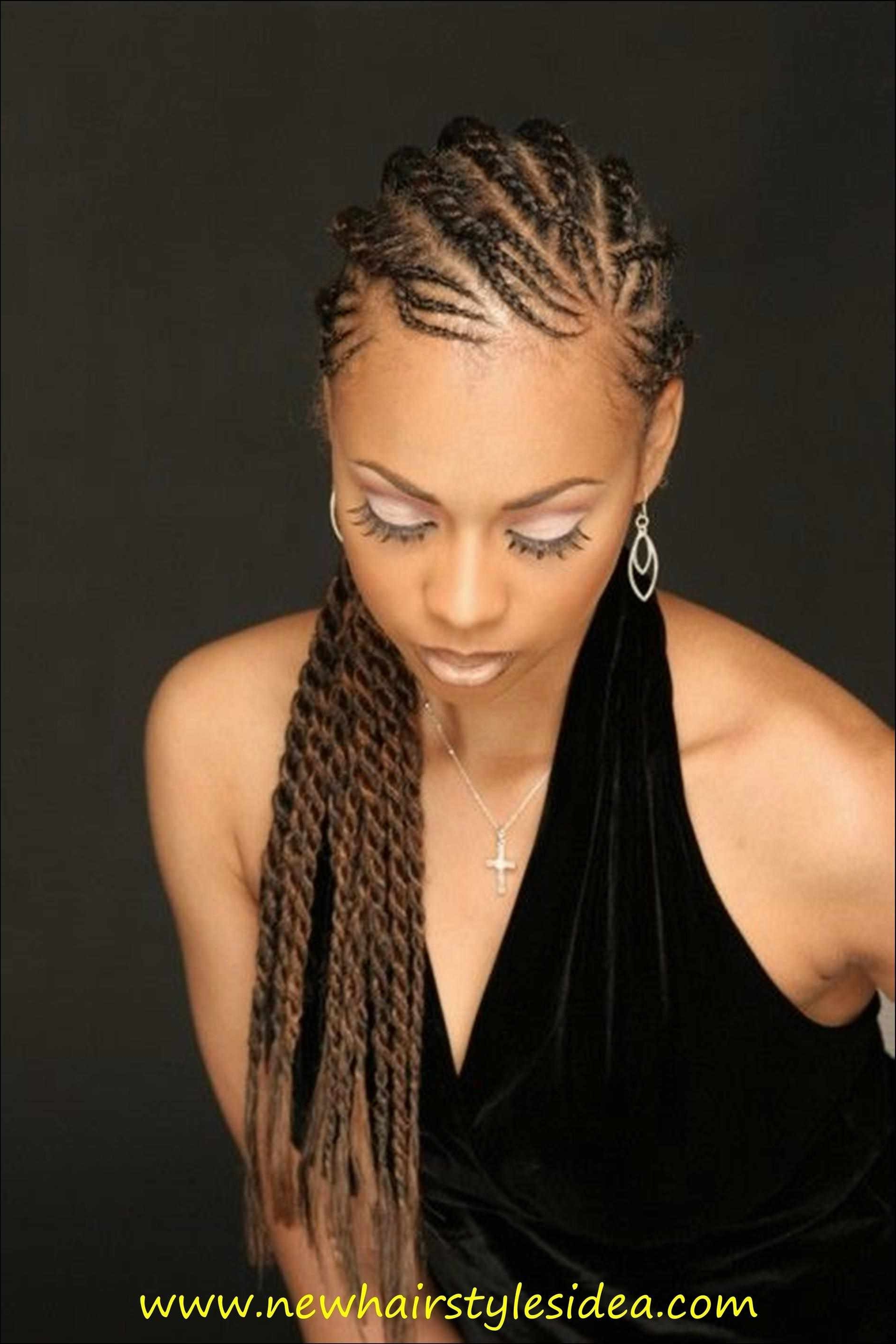 Ideas Of Pics Of Cornrow Hairstyles Unique Cornrow Hairstyles For Regarding 2018 Cornrows Hairstyles For Round Faces (Gallery 9 of 15)