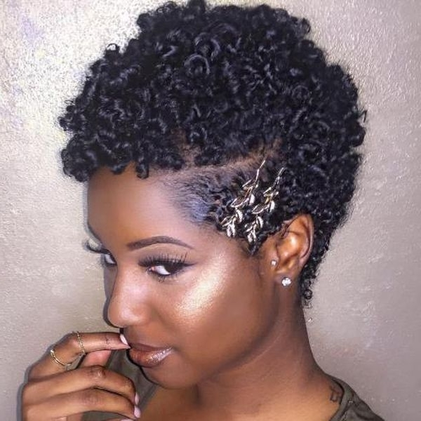 Ideas Of Short Curly Hairstyles For Black Women, Best Curly Hair On Throughout Widely Used Short Black Hairstyles For Curly Hair (Gallery 6 of 15)