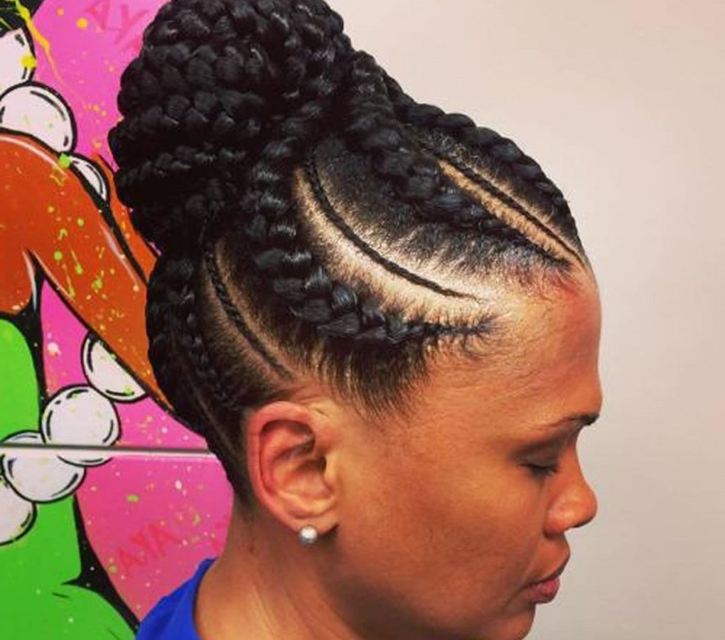 Ideas Pictures African Braidsles Remarkable Braids Hairstyles 2015 With Current South Africa Cornrows Hairstyles (Gallery 11 of 15)