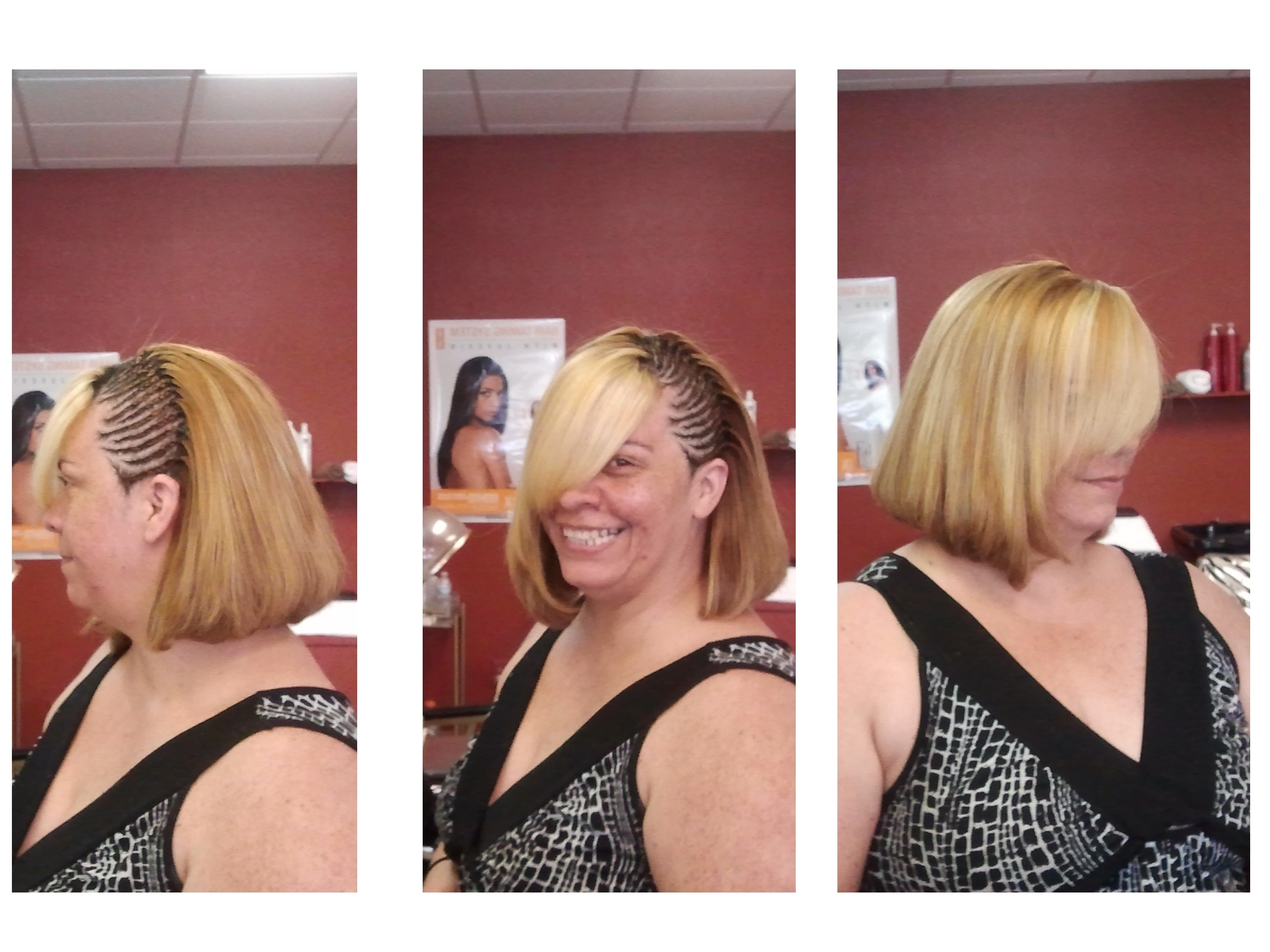 In Newest Braid And Side Bang Hairstyles (View 12 of 15)