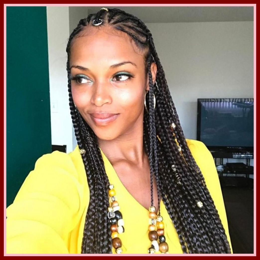 Incredible Braided Hairstyles Black Hair Wedding Ideas Uxjj Me Image Throughout Most Popular Long Braids For Black Hair (View 11 of 15)