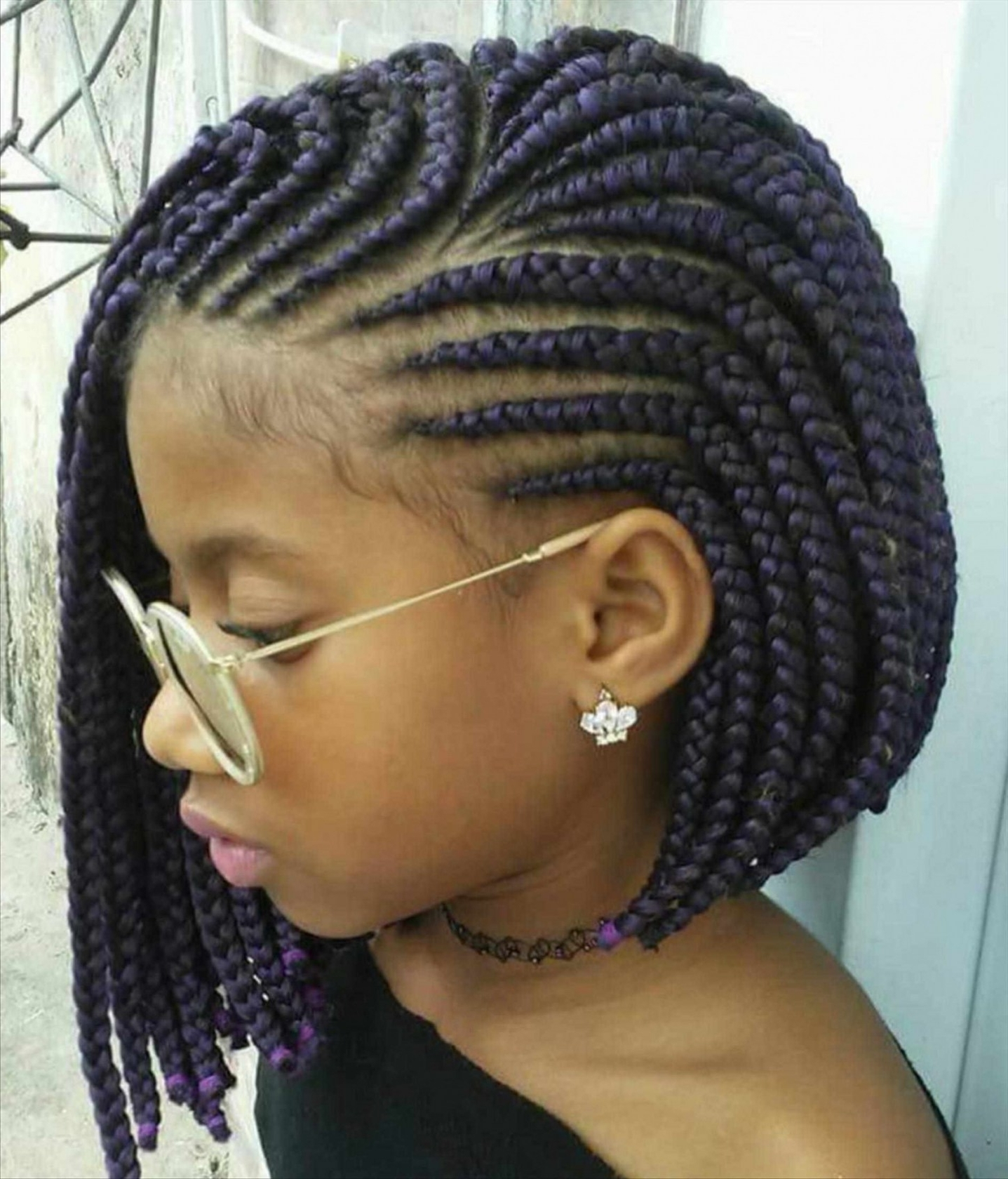 Inspiring African Black Kids Braids Hairstyles Braided For Pict Throughout Current Cornrows African Hairstyles (View 11 of 15)