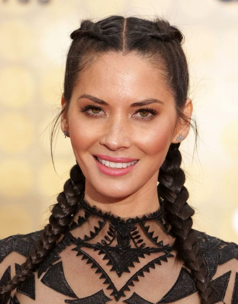 It Takes Two: Celebrity Inspired 2 Braids Hairstyles You Should Try Throughout Current Celebrity Braided Hairstyles (View 11 of 15)