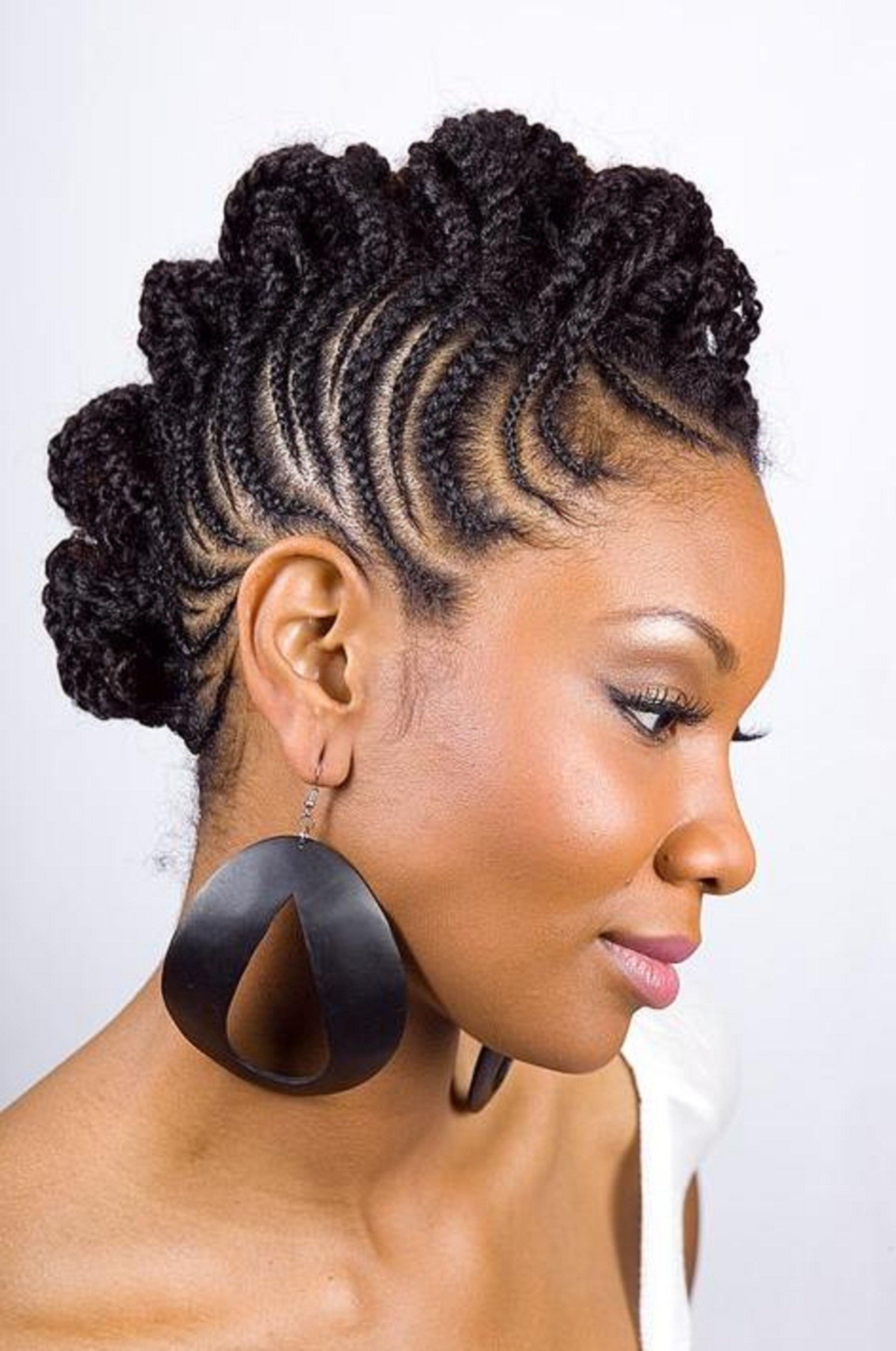 Kenyan Hair Styles & Braidseva Nairobi / Latest Hairstyles In Within Preferred Kenyan Cornrows Hairstyles (Gallery 12 of 15)