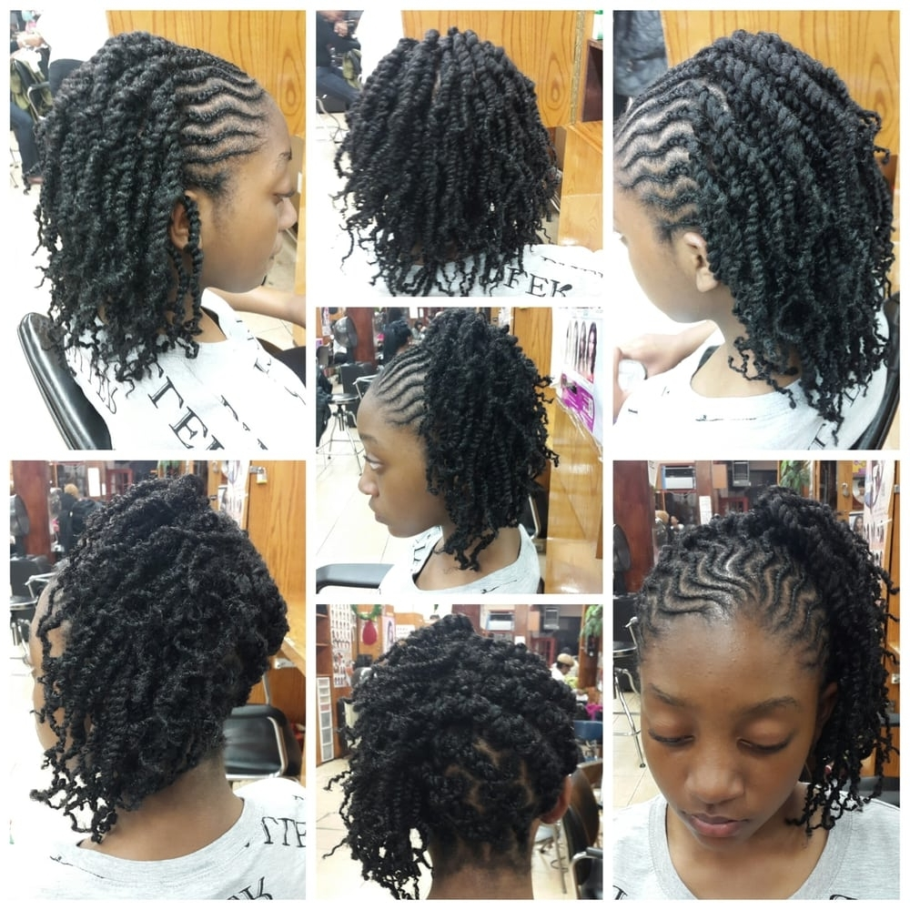 Kinky Twists And Cornrows – Yelp Pertaining To Fashionable Cornrows With A Twist (View 9 of 15)
