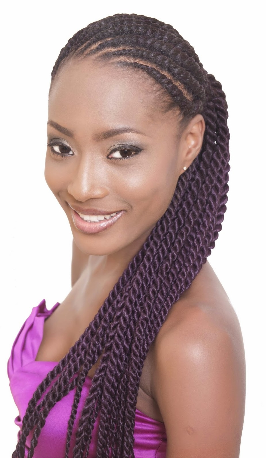 Ladies, Have You Tried These Ghana Braids! (View 11 of 14)