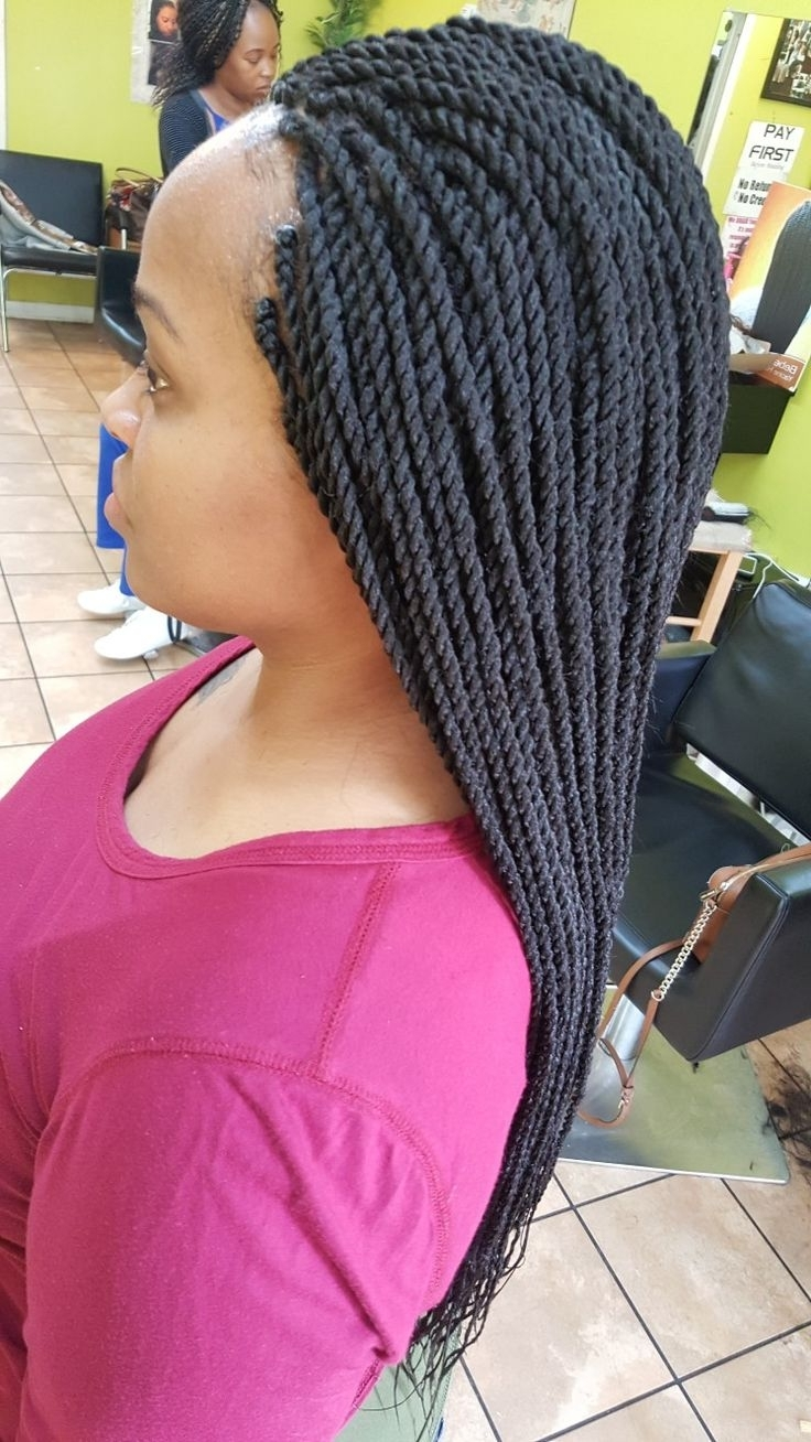 Latest Classic Fulani Braids With Loose Cascading Plaits With 12 Best 3In1Braids Images On Pinterest (View 11 of 15)
