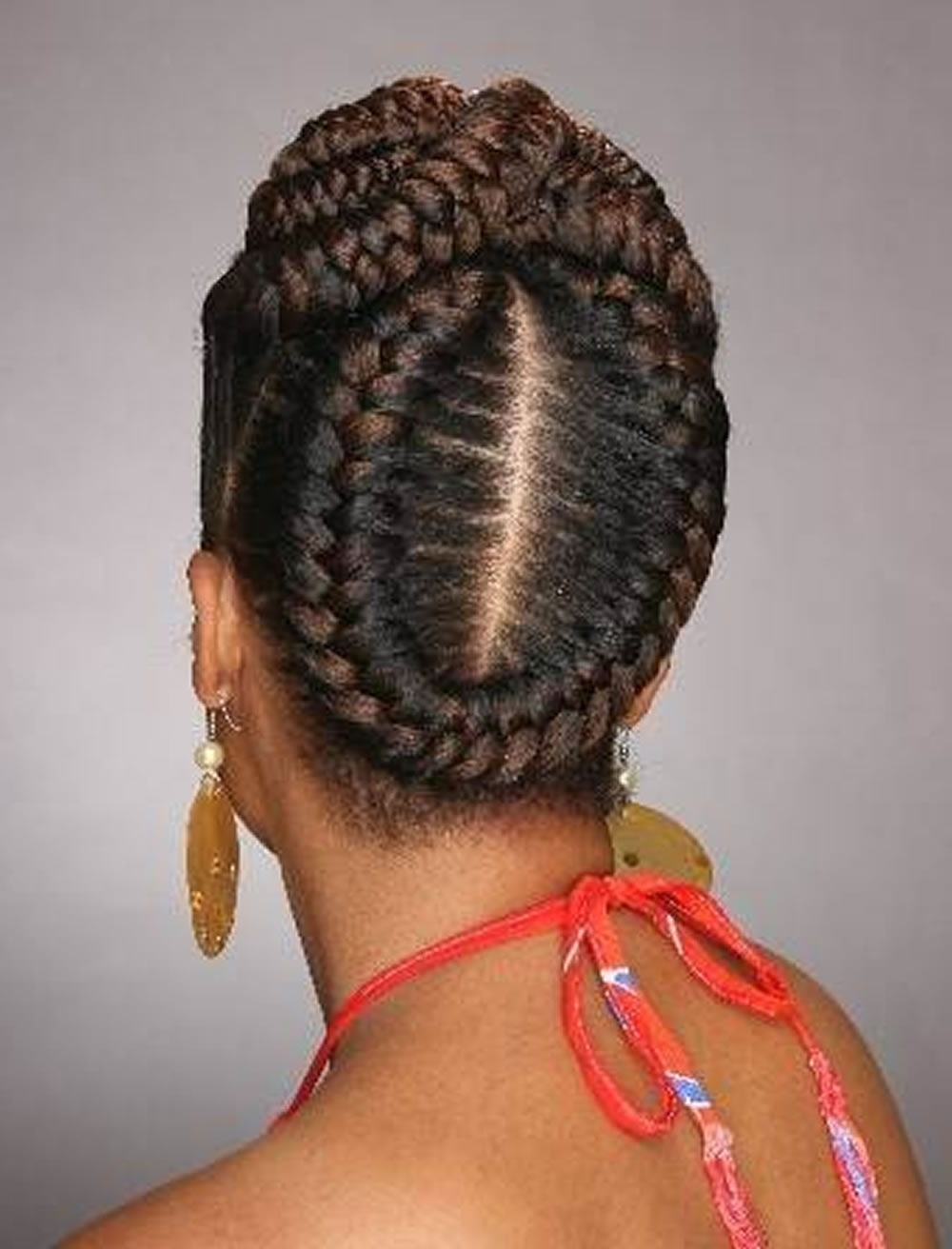 Latest Cornrows Bun Hairstyles Throughout 20 Best African American Braided Hairstyles For Women 2017 (View 12 of 15)
