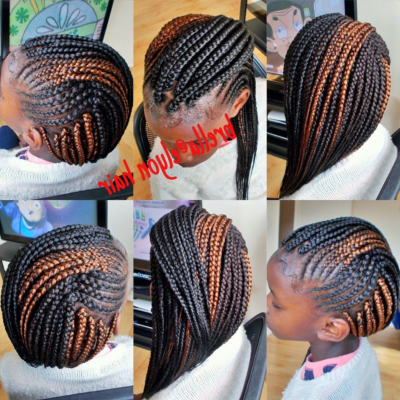 Latest Cornrows Hairstyles For School For Beautiful Braid Hair Styles – Hair Style (View 8 of 15)