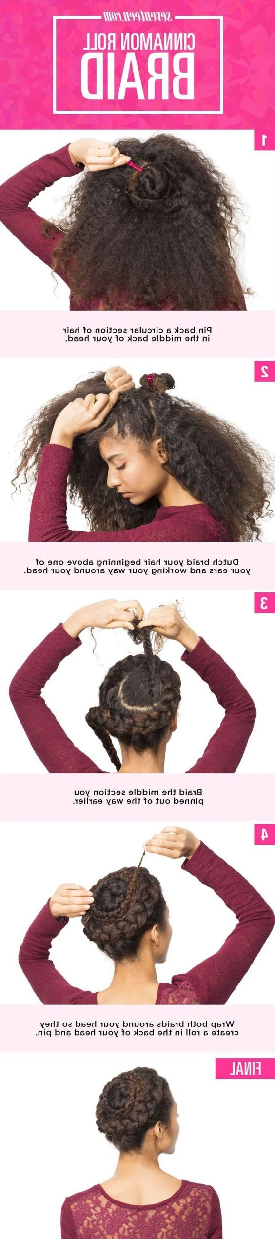 Latest Dutch Braid Crown For Black Hair In 20 Creative Dutch Braid Tutorials You Need To Try This Summer – Gurl (View 9 of 15)