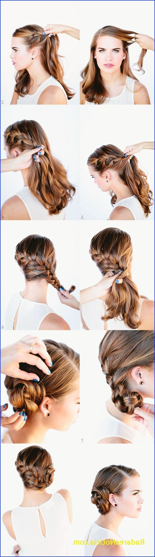 Latest Low Side French Braid Hairstyles Within 6 List Hairstyles For Long Hair Side French Braid Edition (View 13 of 15)