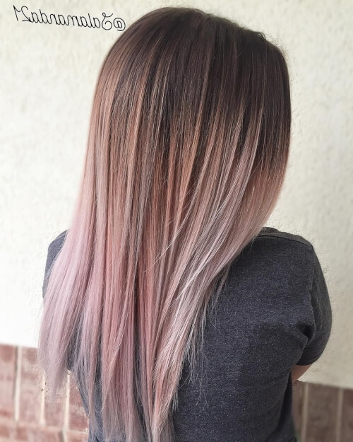 Latest Piece Y Haircuts With Subtle Balayage With Regard To 33 Of The Best Balayage Hair Color Ideas For  (View 7 of 15)