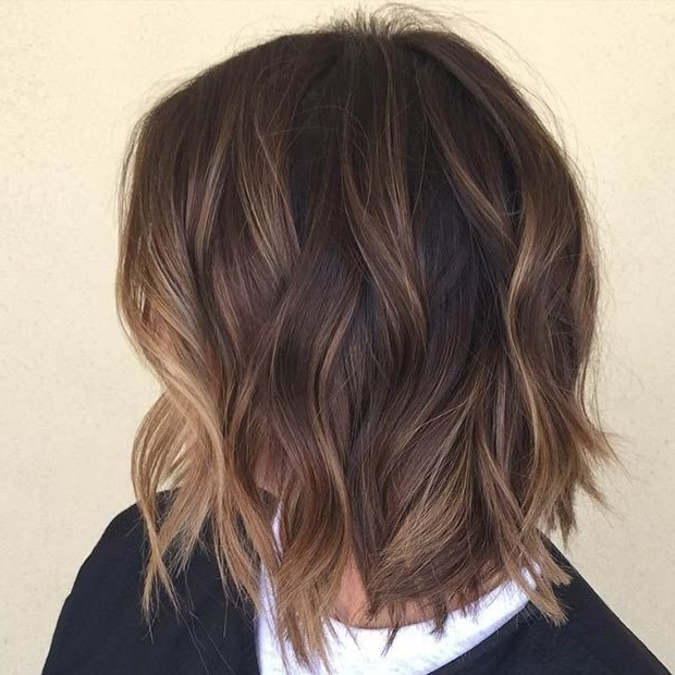Latest Shaggy Pixie Haircuts With Balayage Highlights Intended For 47 Hot Long Bob Haircuts And Hair Color Ideas (View 8 of 15)