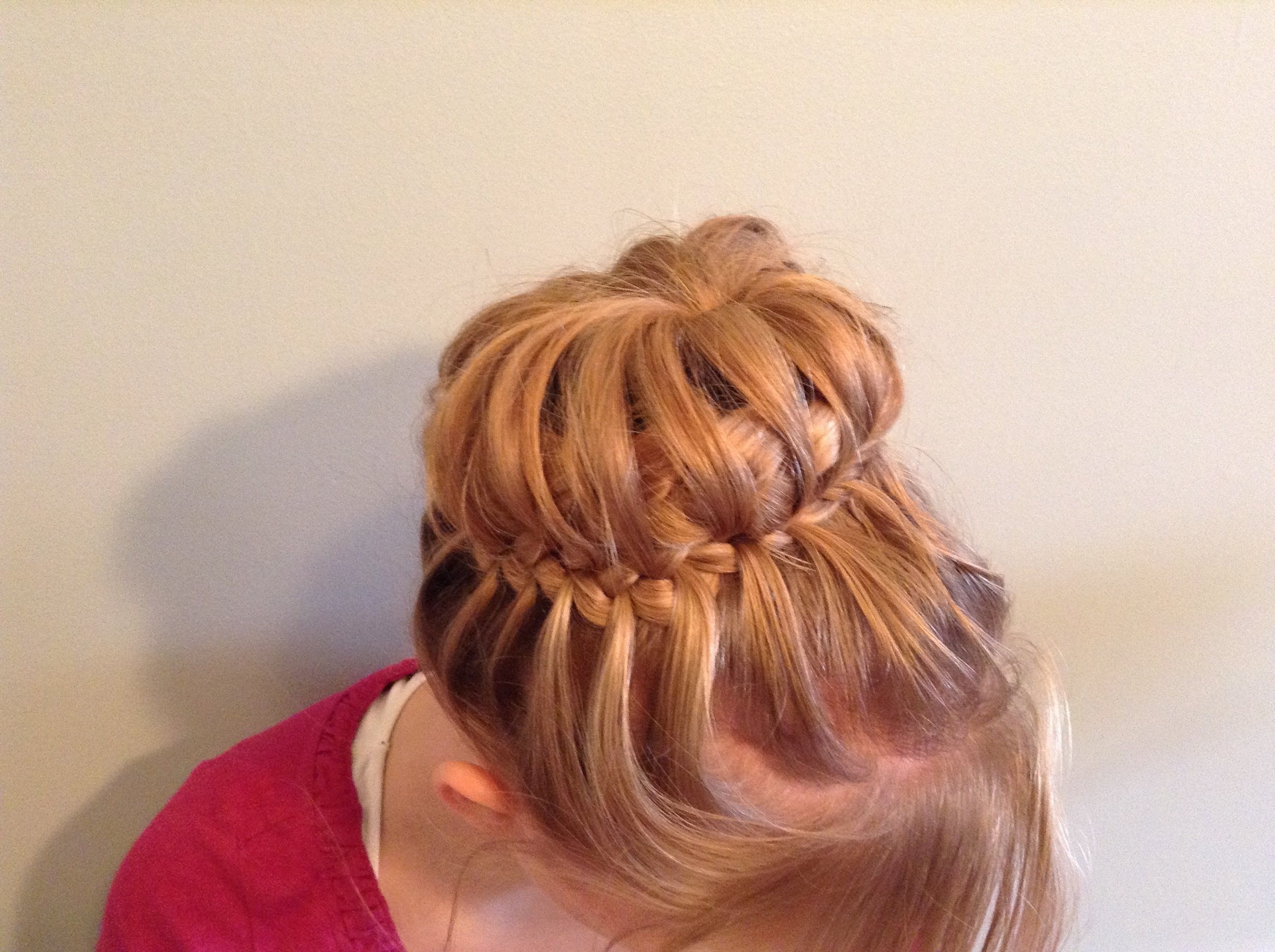 Latest Two French Braid Hairstyles With A Sock Bun Within Elegant French Braided Sock Bun – Youtube (View 12 of 15)