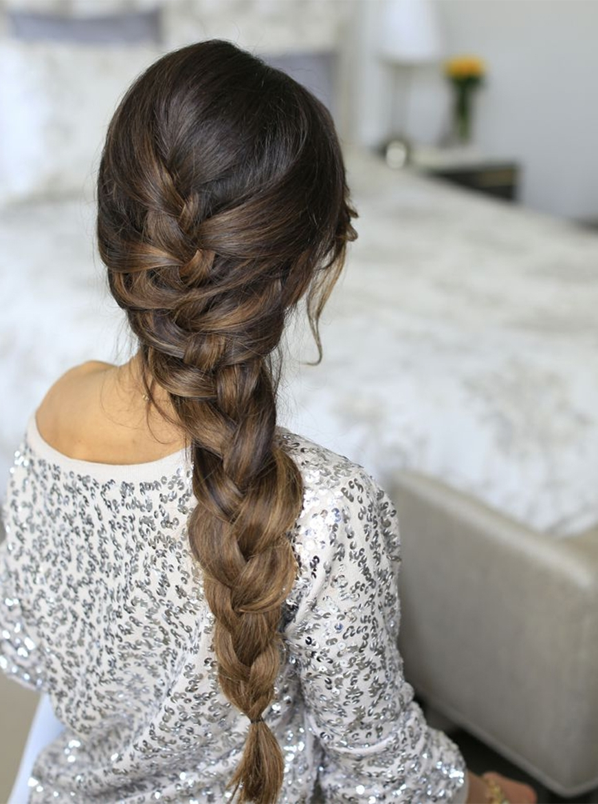 Learn To French Braid Intended For Latest Simple French Braids For Long Hair (View 13 of 15)