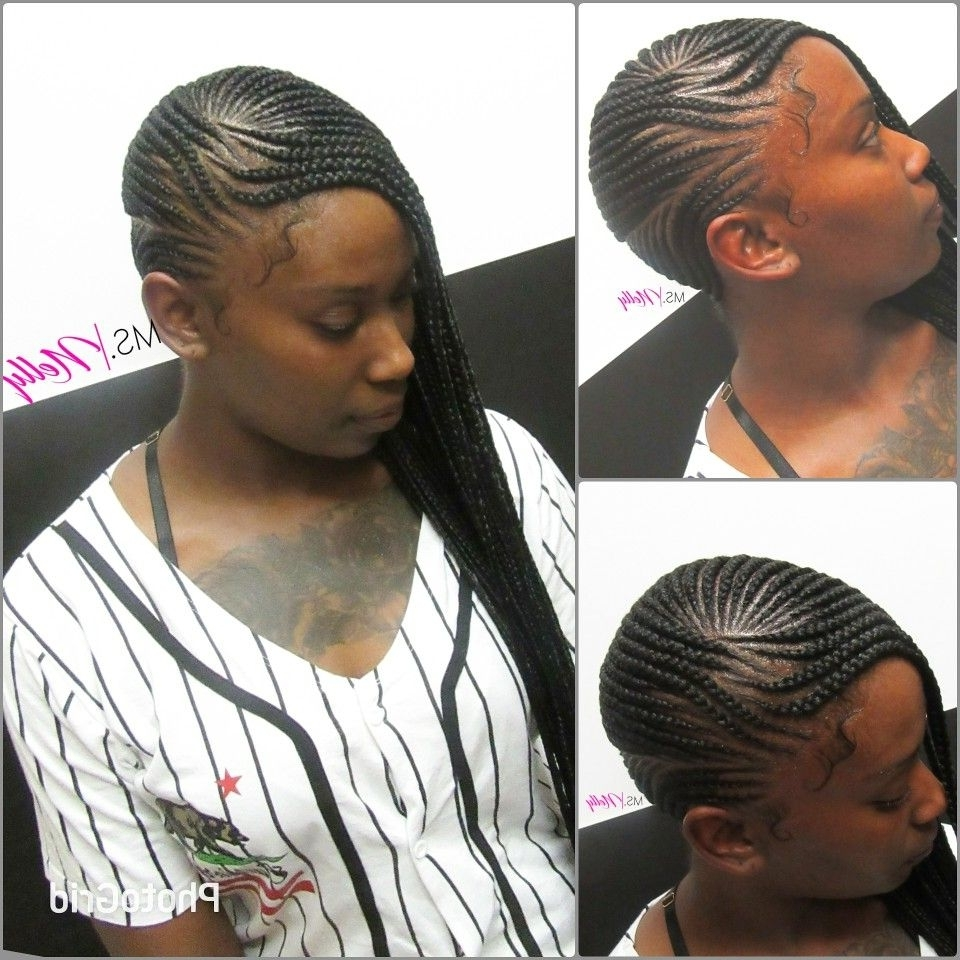 Lemonade Braids, Beyonce Braids, Side Braids, Side Cornrows, Small For Preferred Side Cornrows Hairstyles (View 10 of 15)