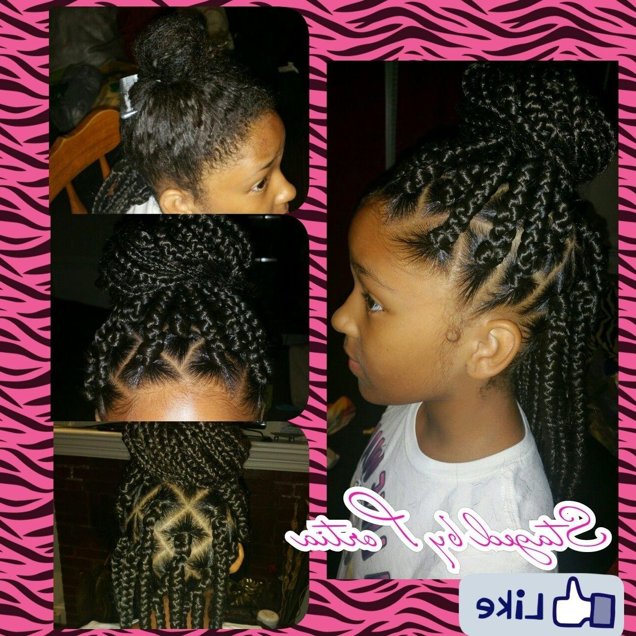 Little Girl Box Braids … (View 11 of 15)