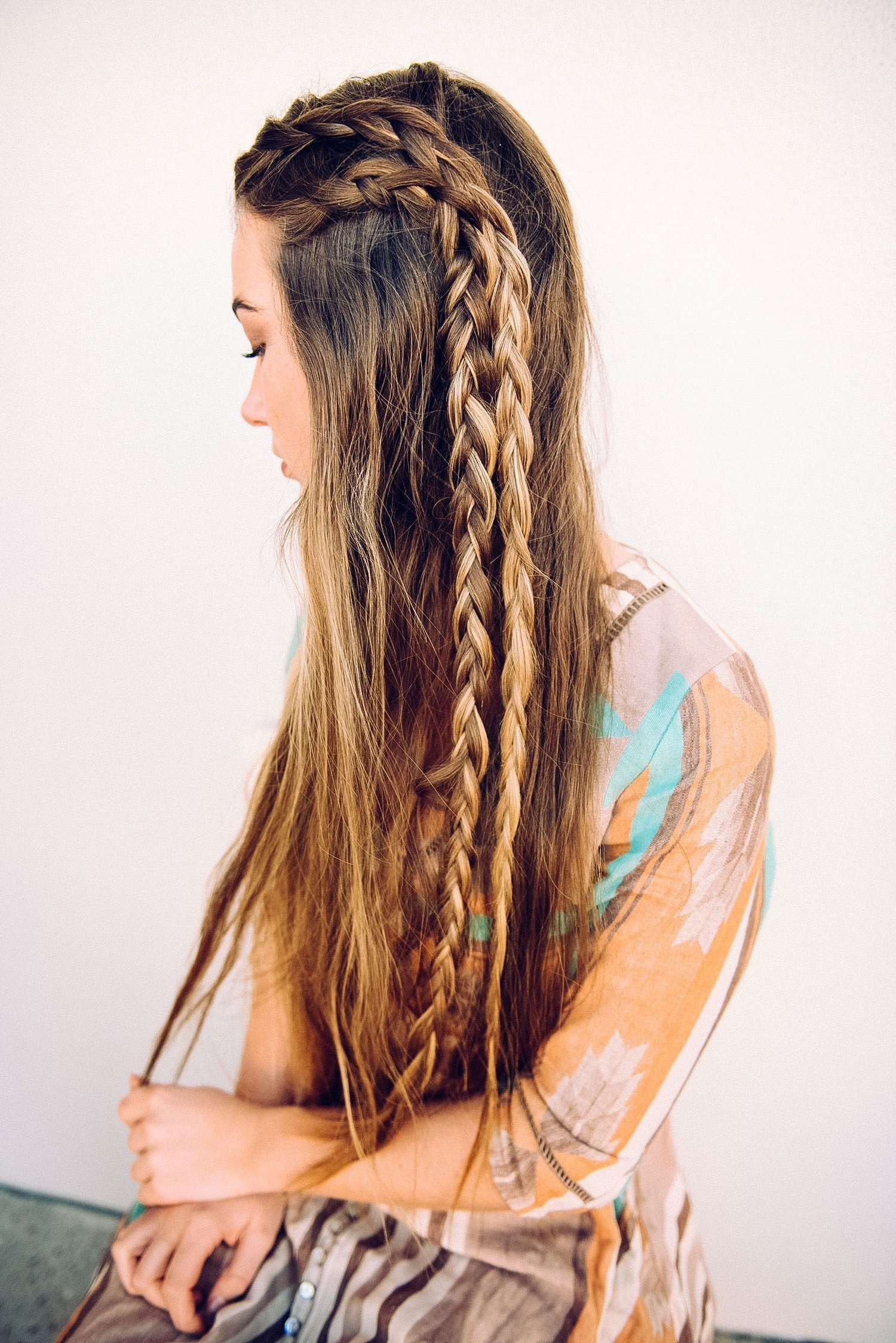 Long Boho Braids … (View 6 of 15)