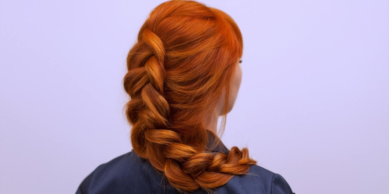 Matrix Intended For Current Artistically Undone Braid Hairstyles (View 4 of 15)