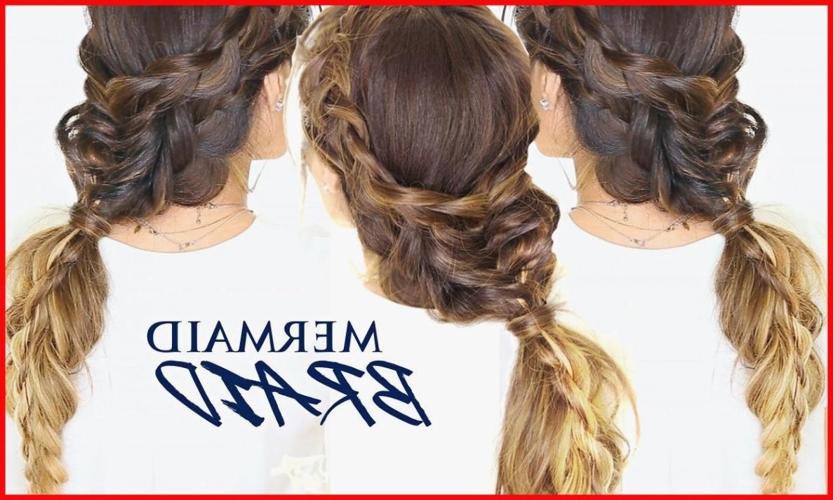 Mermaid Hairstyles 13 Mermaid Braid Hair Tutorial Ðÿ'¸ Cute Intended For Popular Mermaid Braid Hairstyles (View 10 of 15)