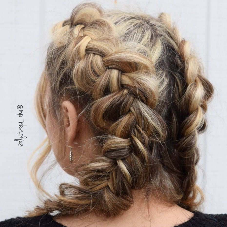 Messy Dutch Braids (View 13 of 15)