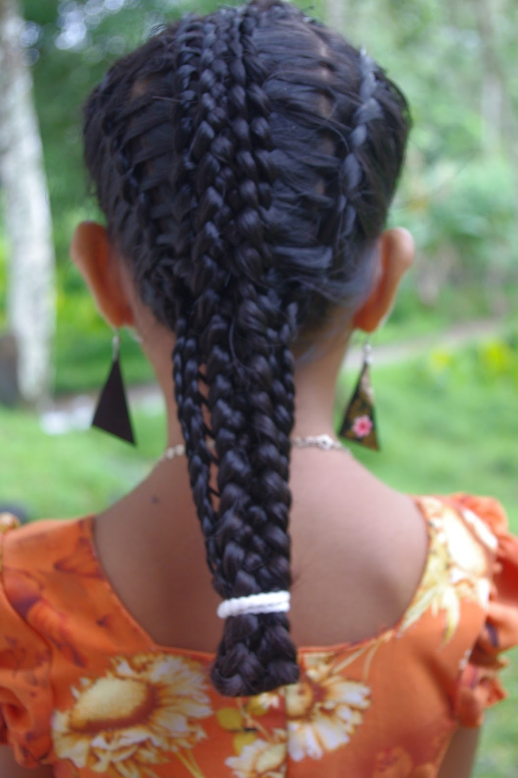 Micronesian Girl~ Basket Weave French Braids – Hairstyle Center With Most Recently Released Lattice Weave With High Braided Ponytail (View 11 of 15)