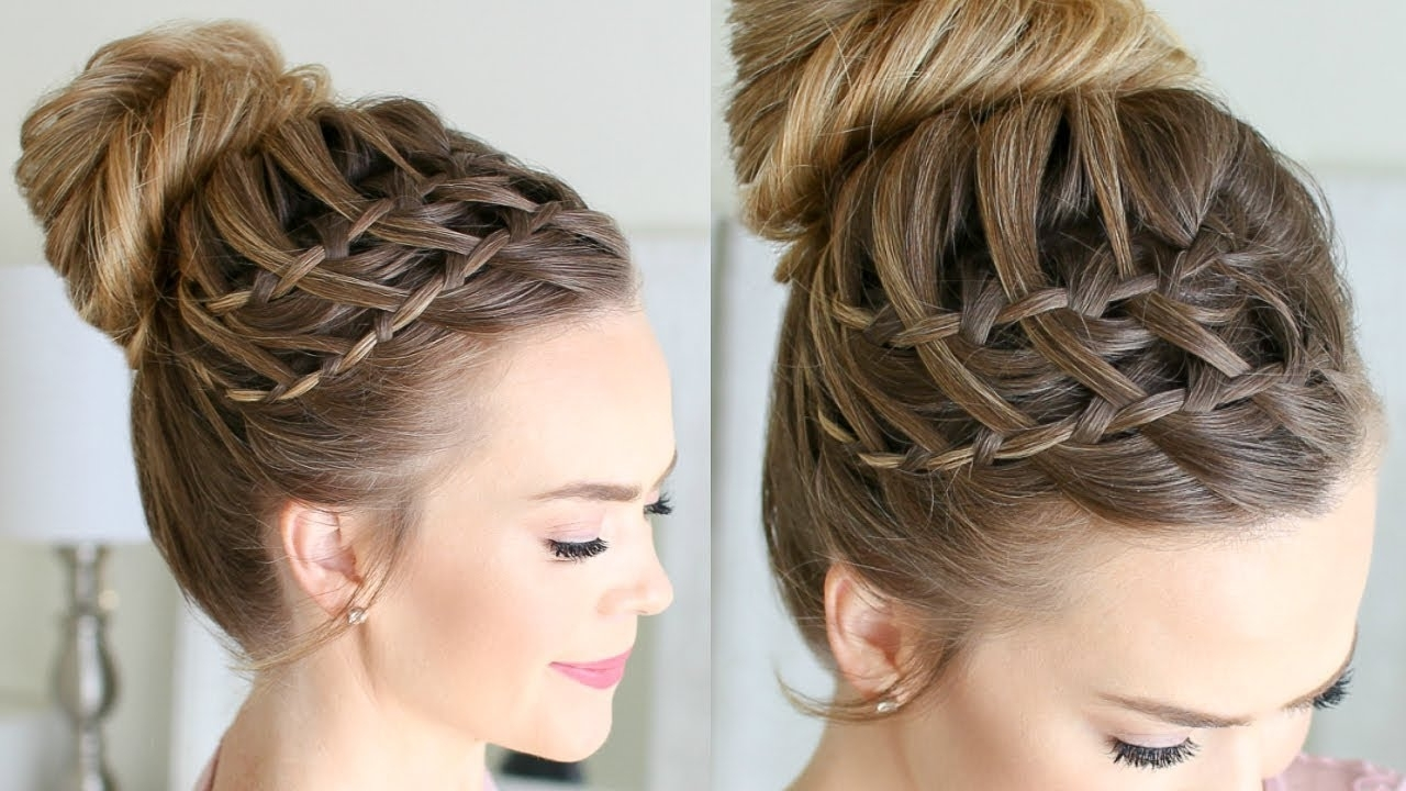 Missy Sue – Youtube In Well Liked Updo With Forward Braided Bun (View 7 of 15)