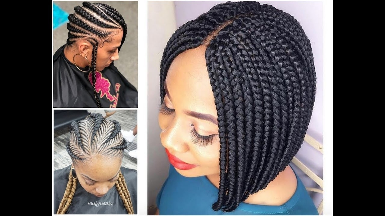 Most Beautiful Braided Hairstyles : 2018 Cute Styles For Your Hair Within Most Popular Jalicia Cornrows Hairstyles (View 9 of 15)