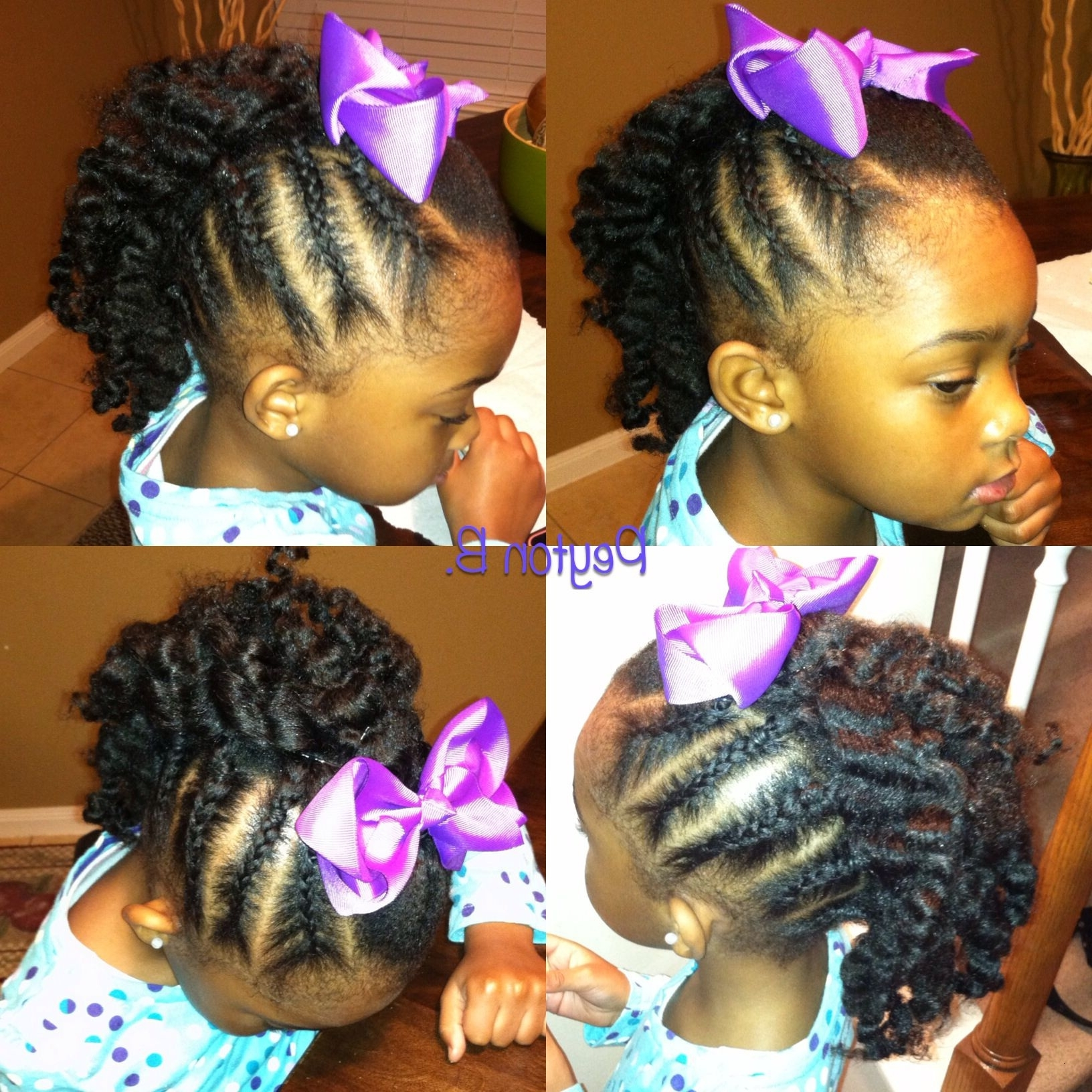 Most Current Black Braided Mohawk Regarding Braided Black Hairstyles Beautiful Braided Mohawk With Braidout In (View 11 of 15)