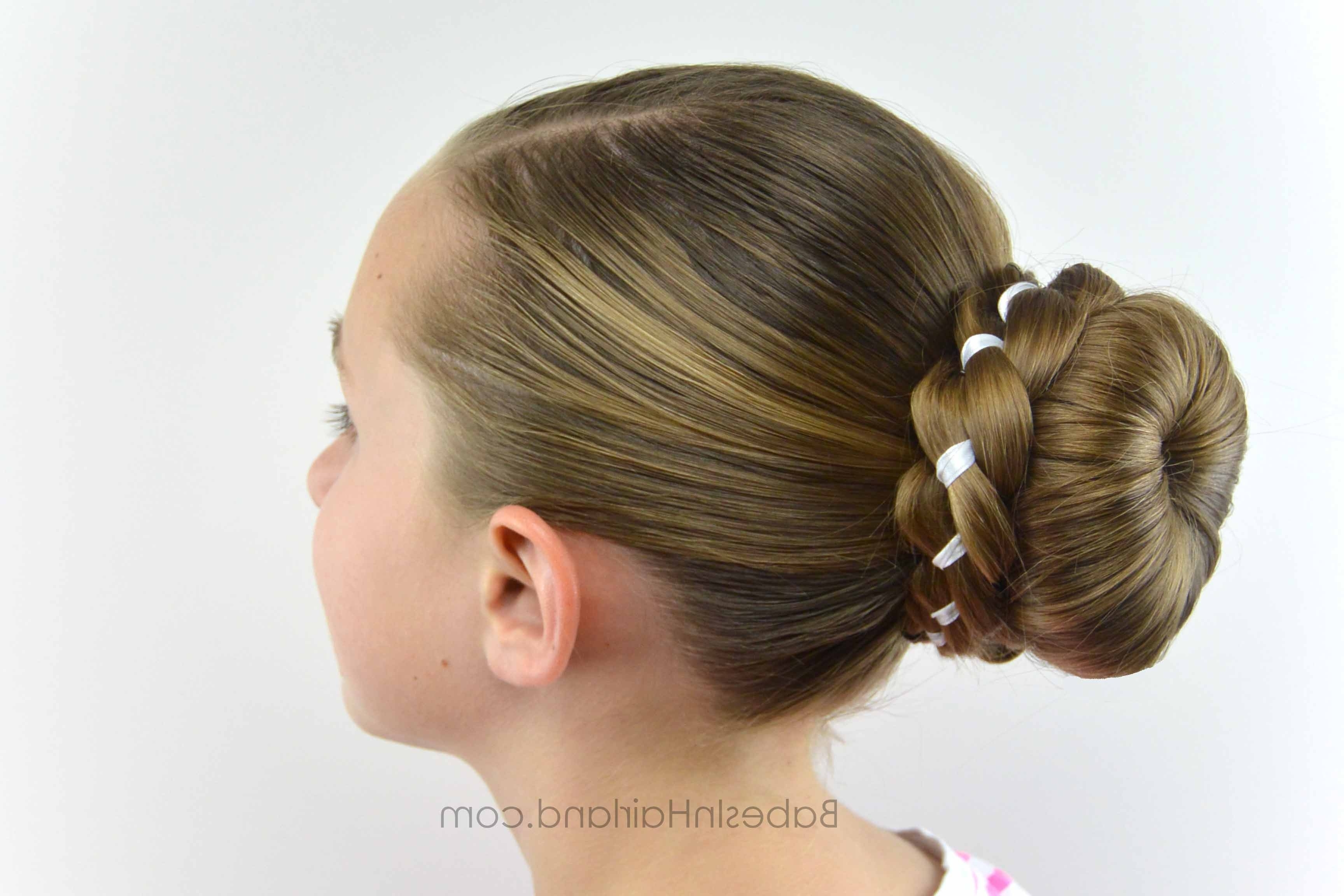 Most Current Braid Into Sock Bun Intended For Ribbon Braid Wrapped Sock Bun – Babes In Hairland (View 8 of 15)