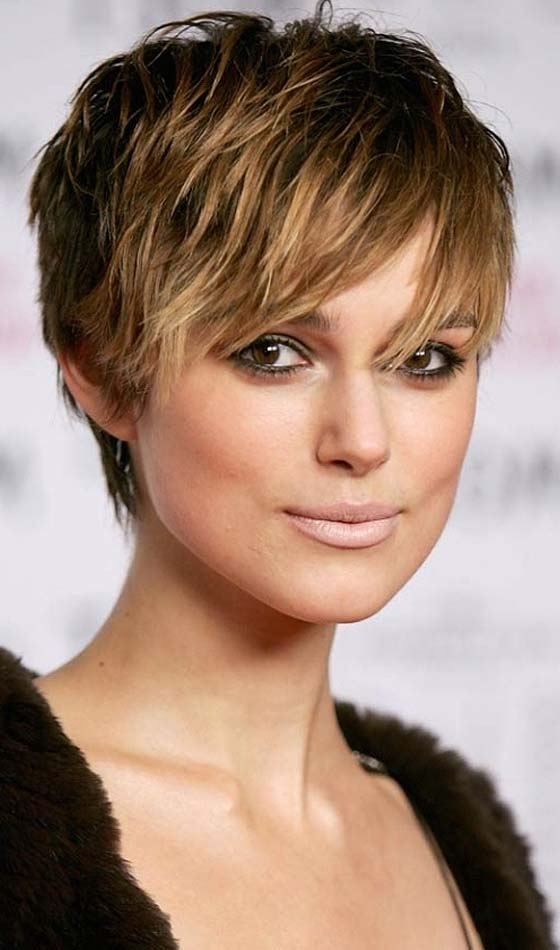 Most Current Choppy Pixie Haircuts With Side Bangs Throughout 20 Short Choppy Hairstyles To Try Out Today (View 8 of 15)
