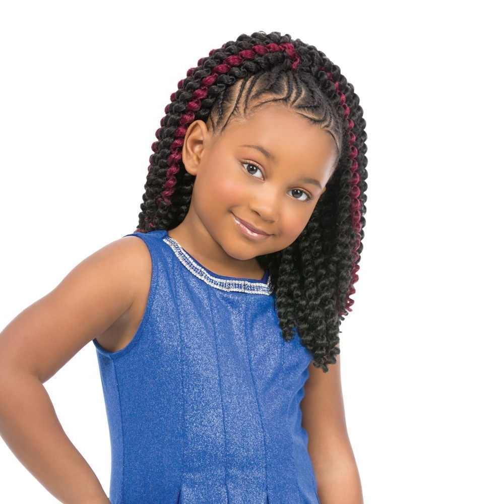 Most Current Classic Fulani Braids With Loose Cascading Plaits Within Sensationnel Synthetic Crochet Braiding Hair Kids Baby Cozy  (View 13 of 15)