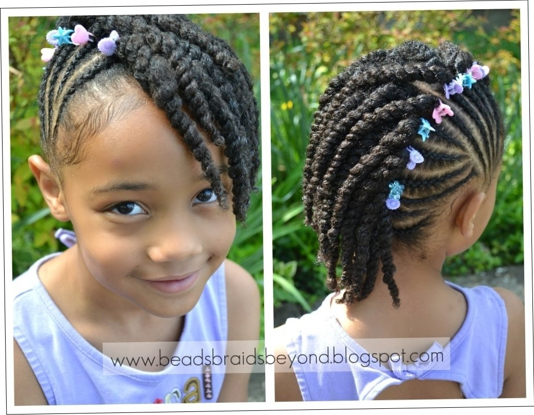Most Current Cornrows Hairstyles For Little Girl Throughout Cornrow Styles For Little Girls Hairstyles (View 12 of 15)