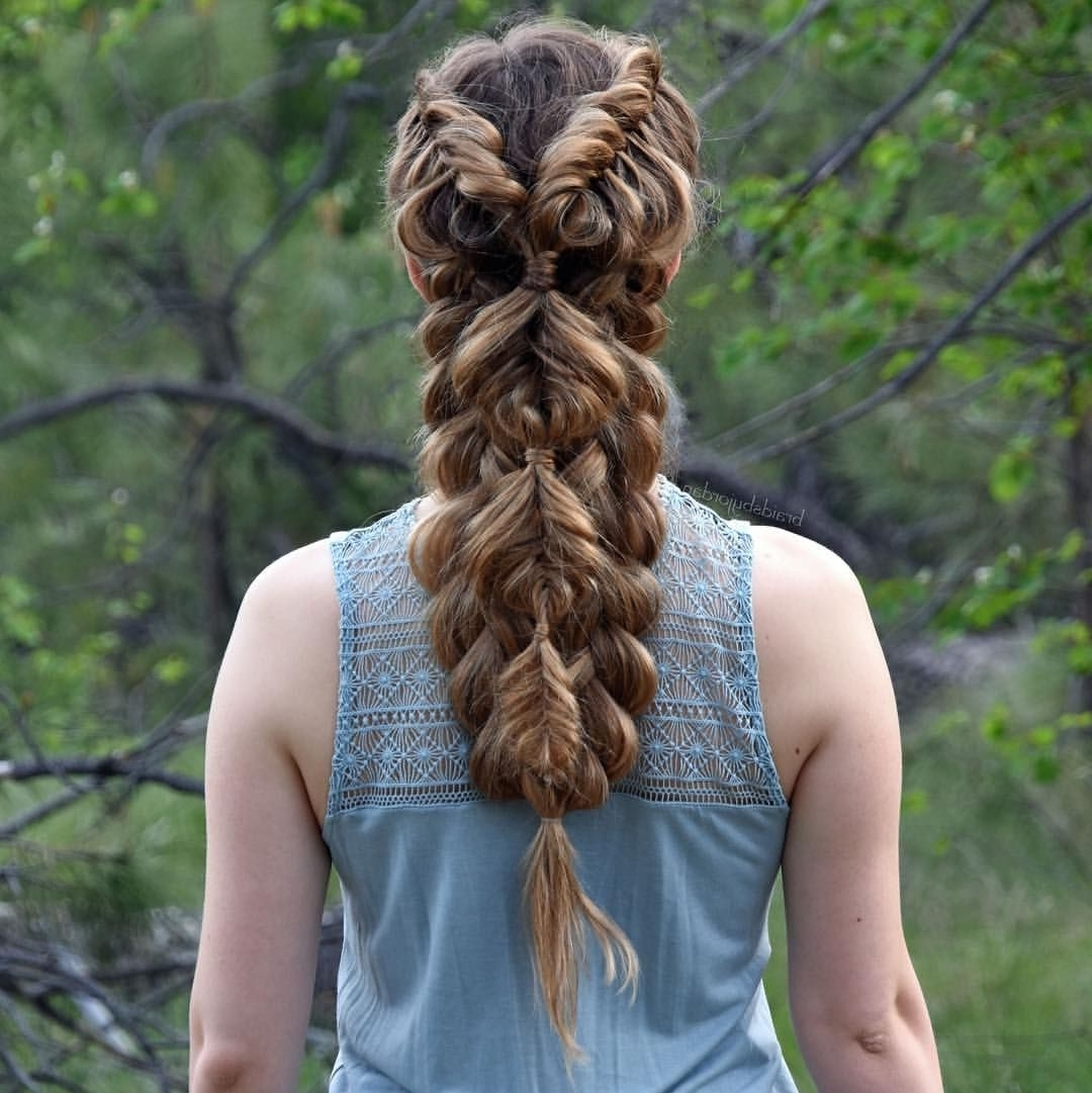 Most Current French Braid Hairstyles With Bubbles With Regard To Pinjulie Bassett On Hair Ideas (View 8 of 15)