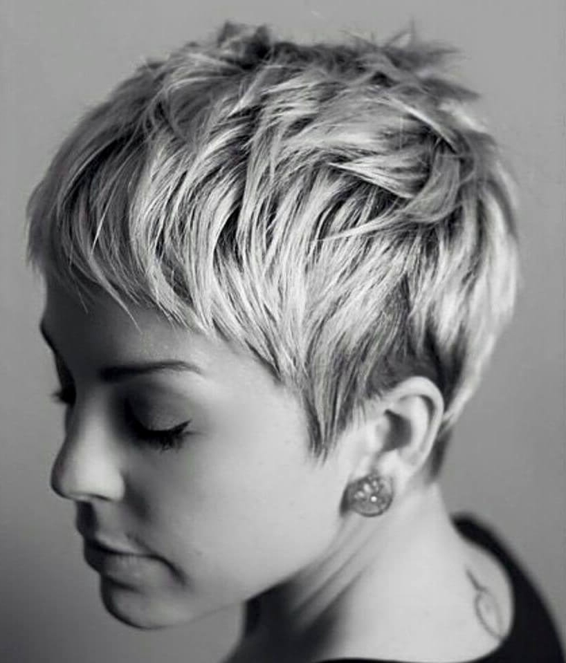 Most Current Messy Tapered Pixie Haircuts Inside 50 Pixie Haircuts You'll See Trending In (View 8 of 15)