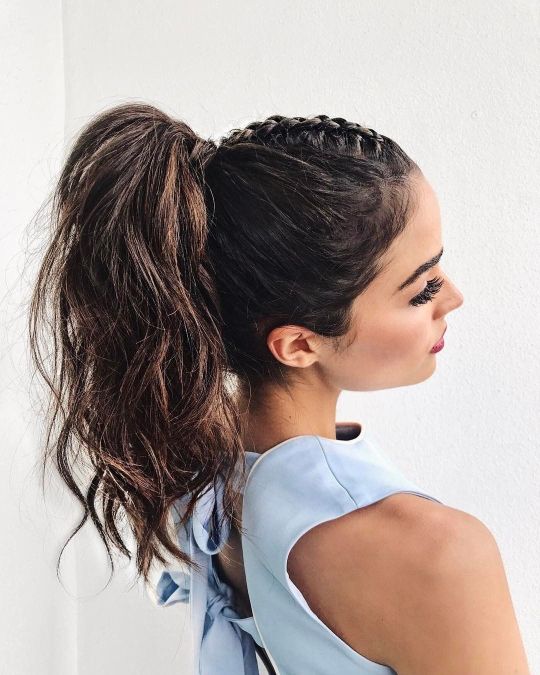 "Most Current Mohawk With Double Bump Hairstyles With Olivia Culpo (@oliviaculpo) On Instagram: "" My Favorite Mohawk Braid (View 7 of 15)"