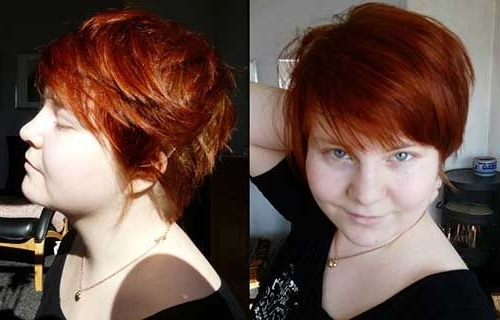Most Current Ravishing Red Pixie Haircuts Intended For Rot Pixie Haarschnitt Rundgesicht Pics (View 11 of 15)