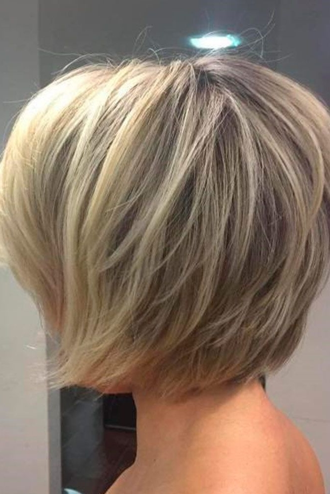 Most Current Razored Haircuts With Precise Nape And Sideburns Intended For 28 Adorable Short Layered Haircuts For The Summer Fun (View 9 of 15)