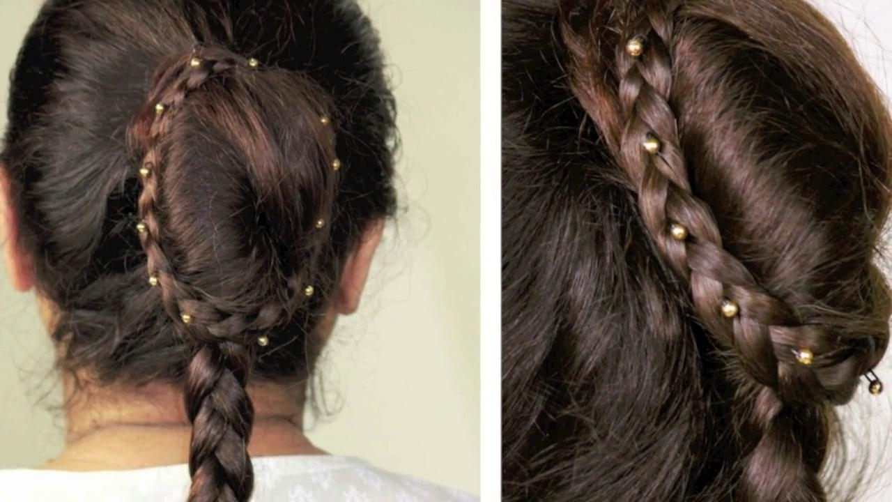 Most Current Reverse Braid And Side Ponytail Throughout Party Hairstyle Side French Braid Reverse Braid Bridal (View 9 of 15)
