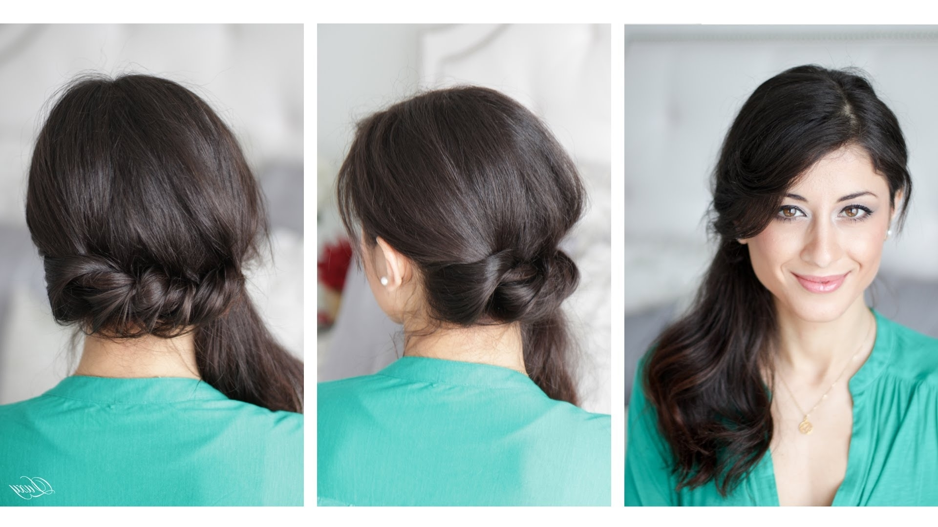 Featured Photo of Side Ponytail Braids With A Twist